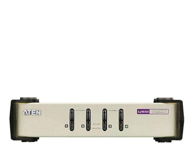 ATEN CS84U-AT USB/PS/2 + VGA (4 komputery) 1,2m - 46600 - zdjęcie
