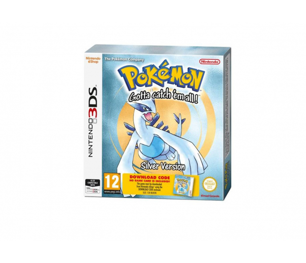 Nintendo Pokemon Silver DCC - 384027 - zdjęcie