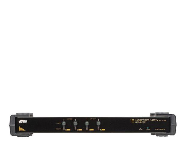 ATEN CS9134Q9 RACK PS/2 + VGA + audio (4 komputery) - 29896 - zdjęcie