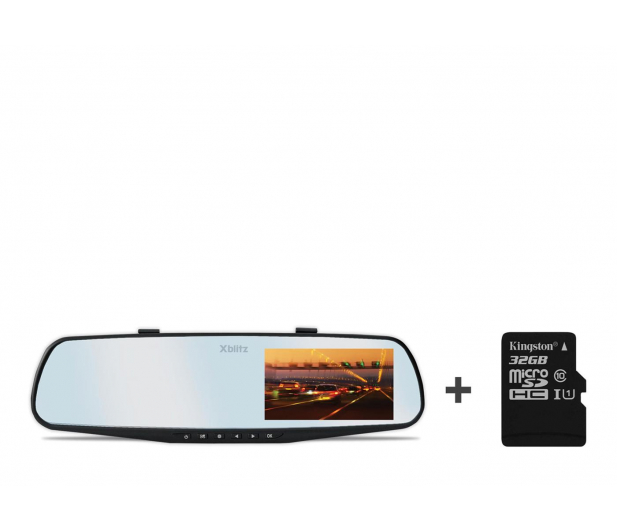 "Xblitz Mirror 2016 Full HD/4,3""/140 + 32GB  - 363451 - zdjęcie"