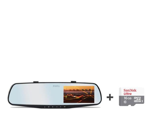 "Xblitz Mirror 2016 Full HD/4,3""/140 + 16GB - 363421 - zdjęcie"