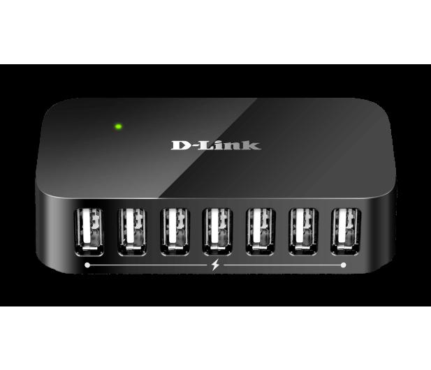 D-Link DUB-H7 USB 2.0 (7 portów, aktywny, zasilacz) - 28204 - zdjęcie 1