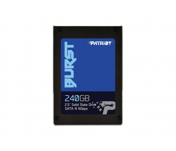 """Patriot 240GB 2,5"""" SATA SSD BURST - 381505 - zdjęcie"""