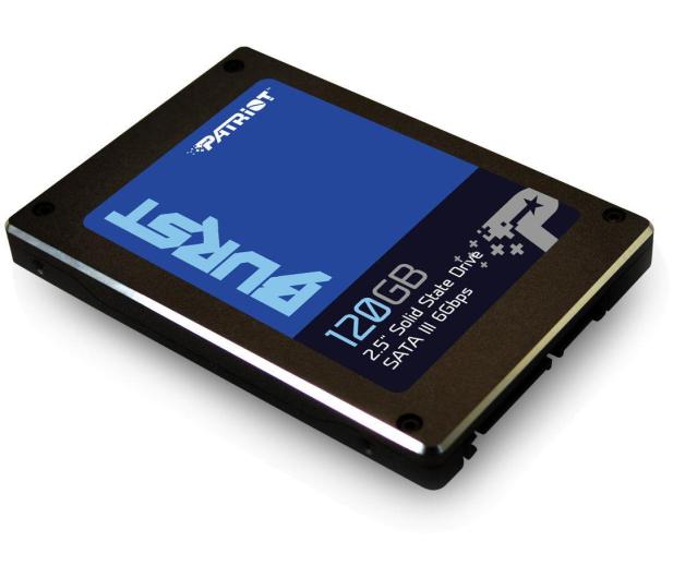 """Patriot 120GB 2,5"""" SATA SSD BURST - 381508 - zdjęcie 2"""