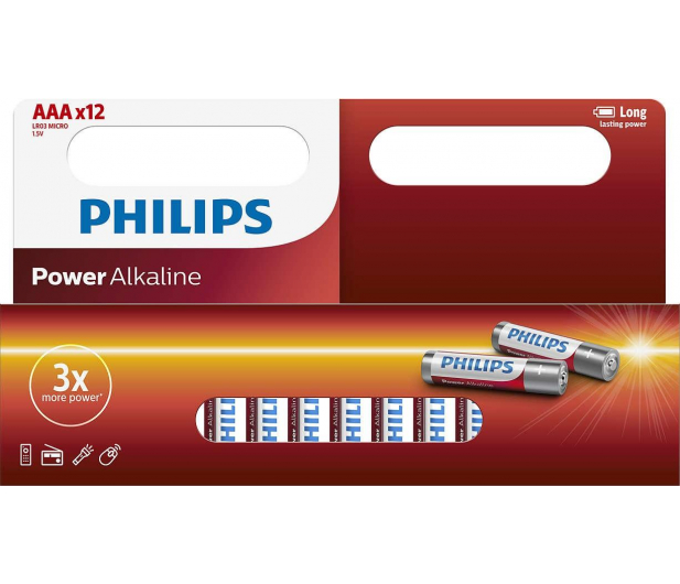 Philips Power Alkaline AAA 12szt - 381282 - zdjęcie
