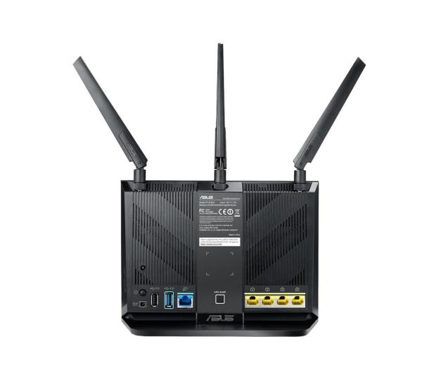 ASUS RT-AC86U (2900Mb/s a/b/g/n/ac, 2xUSB 3G/4G, QAM) - 381671 - zdjęcie 5