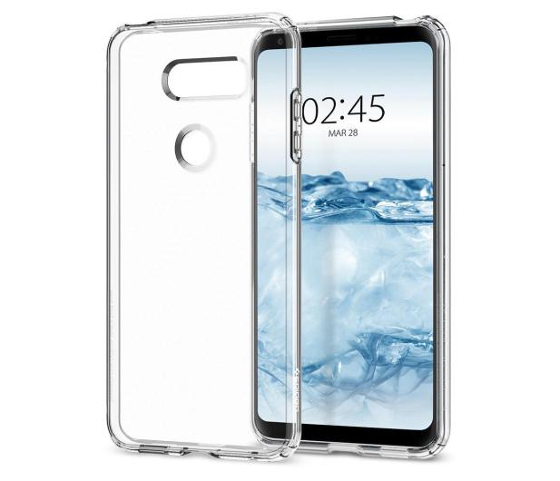 Spigen Liquid Crystal do LG V30 Crystal Clear - 402167 - zdjęcie