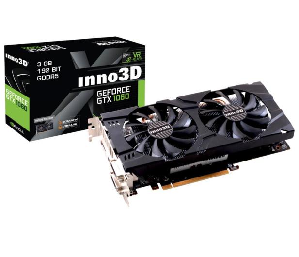 Inno3D GeForce GTX 1060 Twin X2 3GB GDDR5 - 402517 - zdjęcie