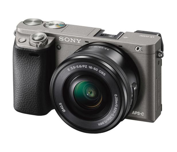 Sony ILCE A6000 + 16-50mm szary  - 403099 - zdjęcie