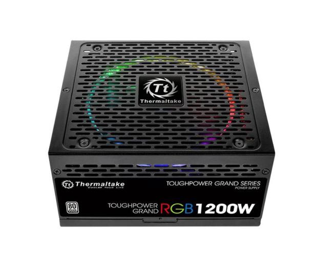 Thermaltake Toughpower Riing 1200W 80 Plus Platinum - 402378 - zdjęcie 3