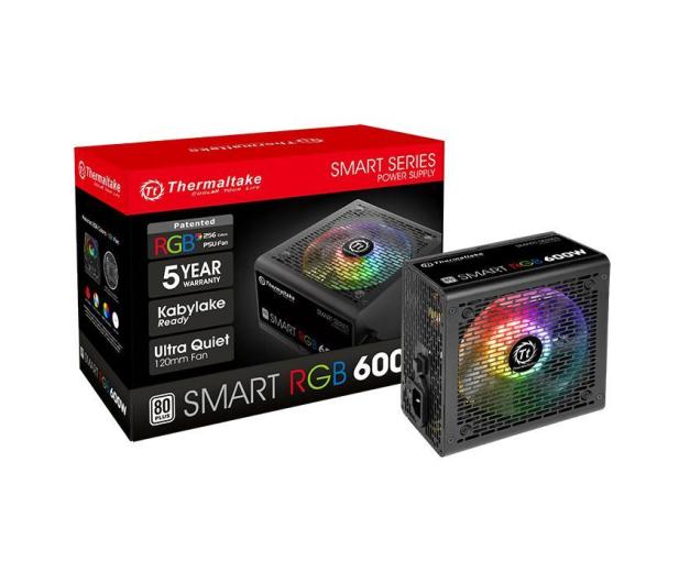 Thermaltake Smart RGB 600W 80 Plus - 402364 - zdjęcie 6
