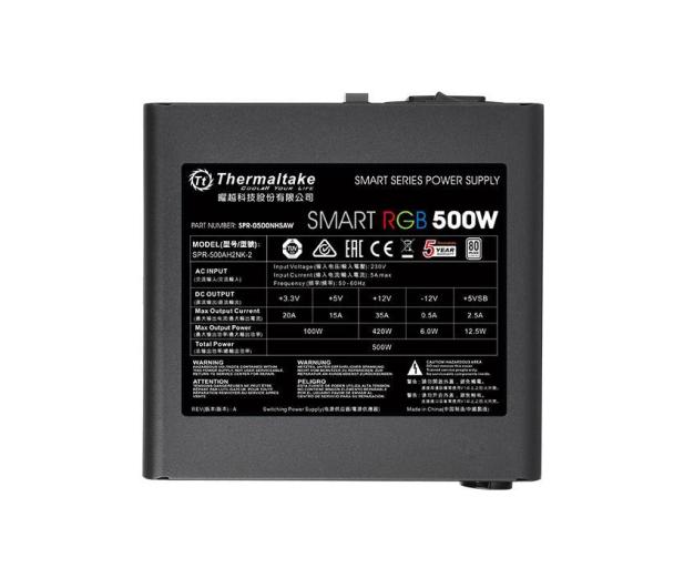 Thermaltake Smart RGB 500W 80 Plus - 402360 - zdjęcie 3