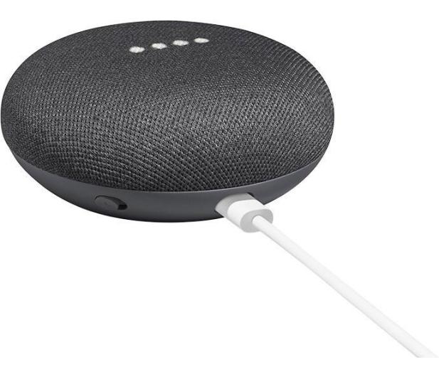 Google Home Mini Charcoal - 403059 - zdjęcie 5