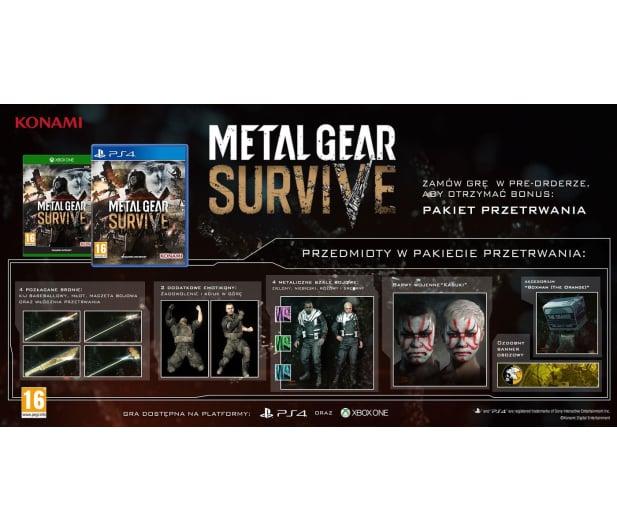 Techland Metal Gear Survive - 403460 - zdjęcie 2