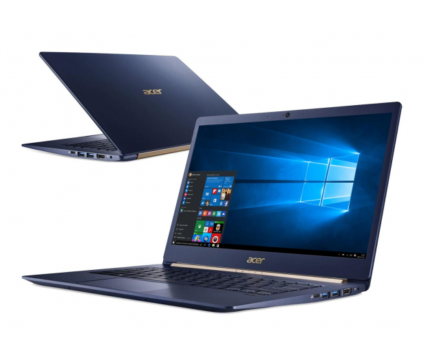 Acer Swift 5 Pro i5-8250U/8GB/512SSD/Win10P Niebieski - 461938 - zdjęcie