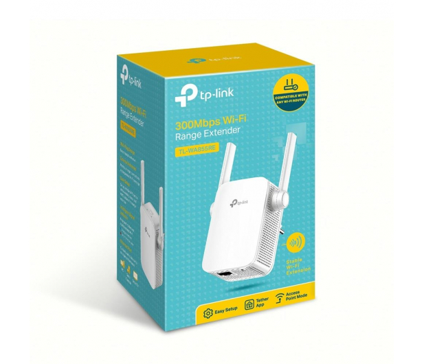 TP-Link TL-WA855RE LAN (802.11b/g/n 300Mb/s) plug repeater - 285282 - zdjęcie 4