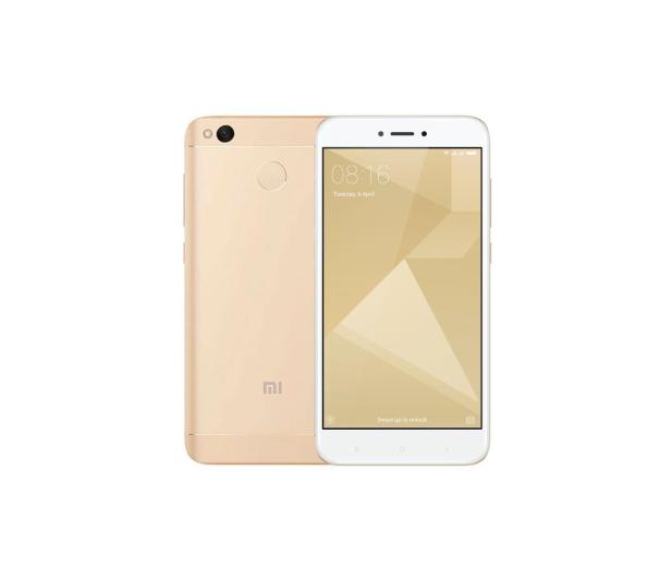 Xiaomi Redmi 4X 32GB Dual SIM LTE Gold - 361729 - zdjęcie