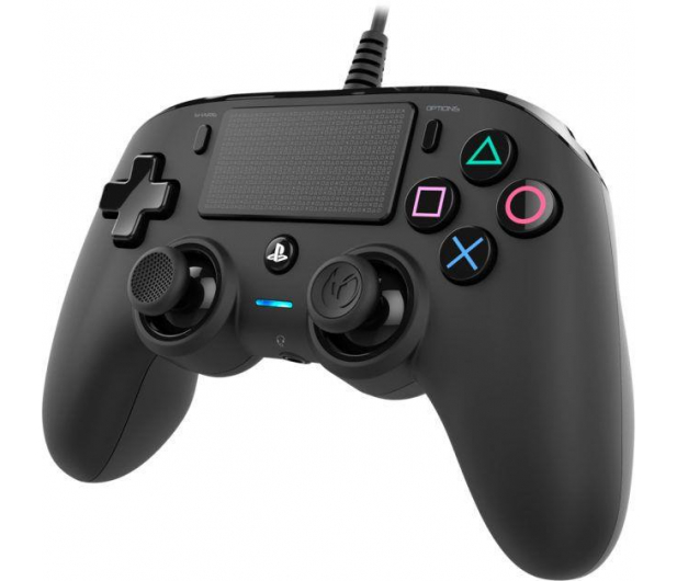 Nacon PS4 Compact Controller Black - 404211 - zdjęcie