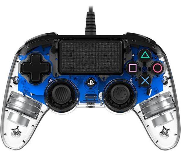 Nacon PS4 Compact Controller Light Blue - 404210 - zdjęcie 4