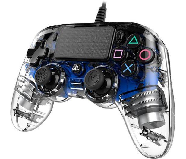 Nacon PS4 Compact Controller Light Blue - 404210 - zdjęcie