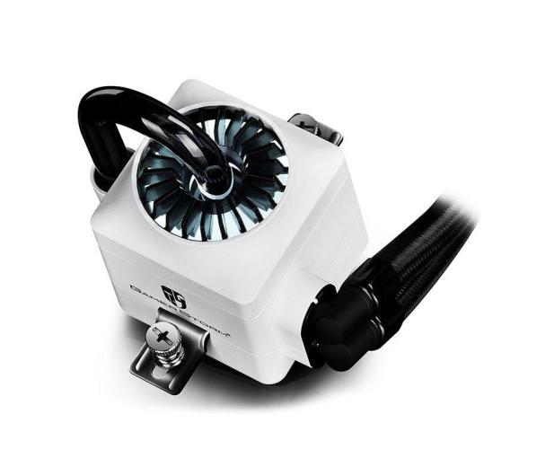 Deepcool Captain 240EX RGB W 2x120mm - 403609 - zdjęcie 3