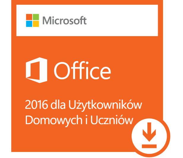 Microsoft Office 2016 dla Użytk. Domowych i Uczniów ESD - 404475 - zdjęcie