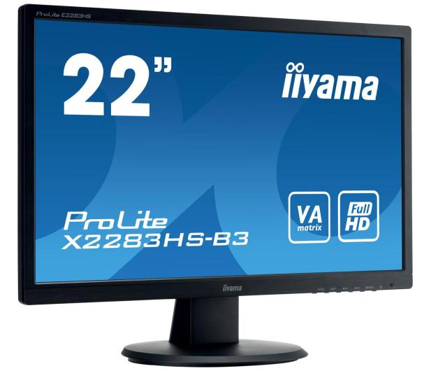 iiyama X2283HS czarny - 403862 - zdjęcie 3