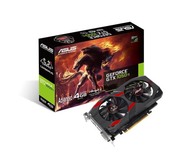 ASUS GeForce GTX 1050 Ti CERBERUS 4GB GDDR5 - 405832 - zdjęcie