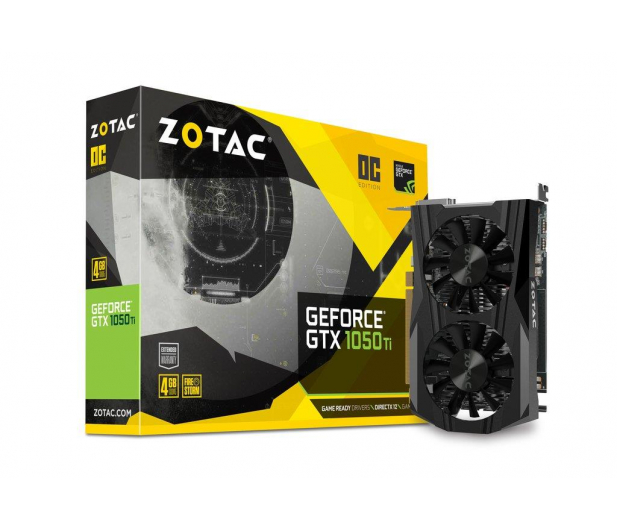 Zotac GeForce GTX 1050 Ti OC 4GB GDDR5 - 357483 - zdjęcie