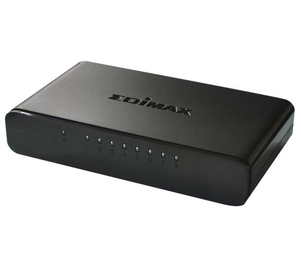 Edimax 8p ES-3308P (8x10/100Mbit) - 126954 - zdjęcie 2