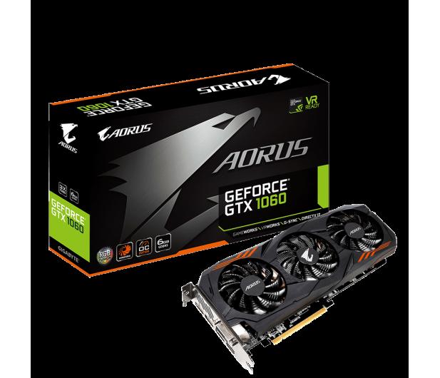 Gigabyte GeForce GTX 1060 Aorus 6GB GDDR5 - 370343 - zdjęcie