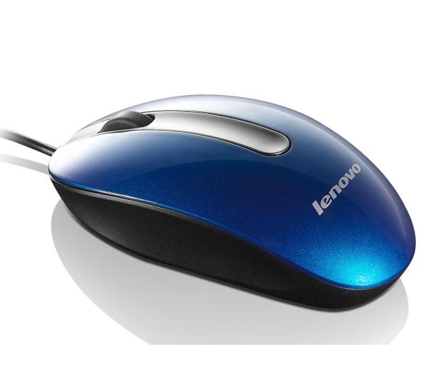 Lenovo Optical Mouse M3803 (niebieski)  - 381750 - zdjęcie