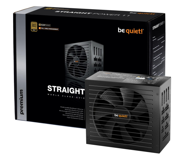 be quiet! Straight Power 11 850W 80 Plus Gold - 401015 - zdjęcie