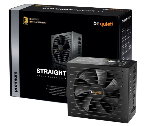 be quiet! Straight Power 11 650W 80 Plus Gold - 401004 - zdjęcie 1