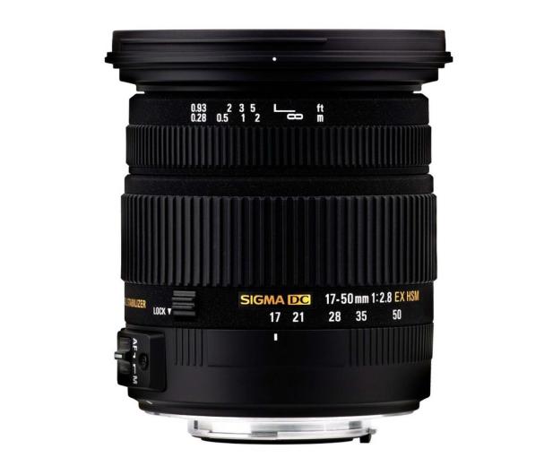 Sigma 17-50mm F2.8 EX DC HSM Sony - 166425 - zdjęcie