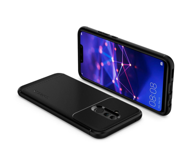 Spigen Rugged Armor do Huawei Mate 20 Lite Black  - 455720 - zdjęcie 3