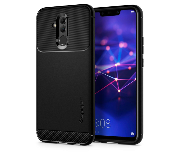 Spigen Rugged Armor do Huawei Mate 20 Lite Black  - 455720 - zdjęcie