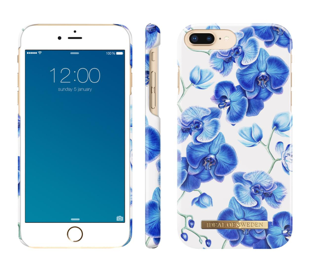 iDeal Fashion Case do iPhone 6/6s/7/8 Plus Baby Orchids - 455142 - zdjęcie 2