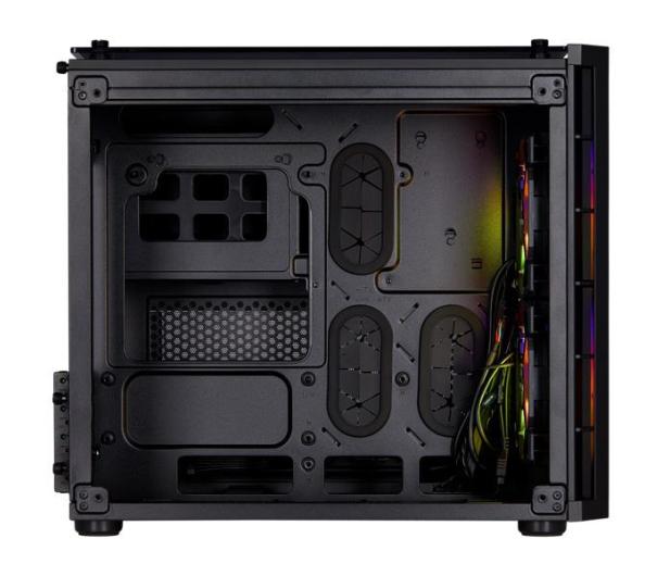 Corsair Crystal Series 280X RGB czarna - 455786 - zdjęcie 2