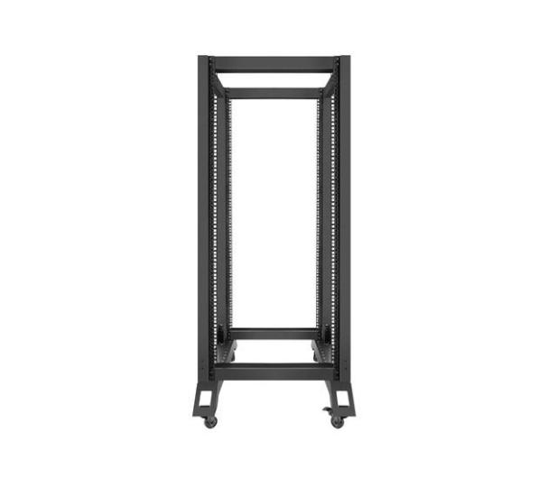 """Lanberg Stojąca 19"""" 27U 600x800mm Open Rack (czarna)  - 455670 - zdjęcie 2"""