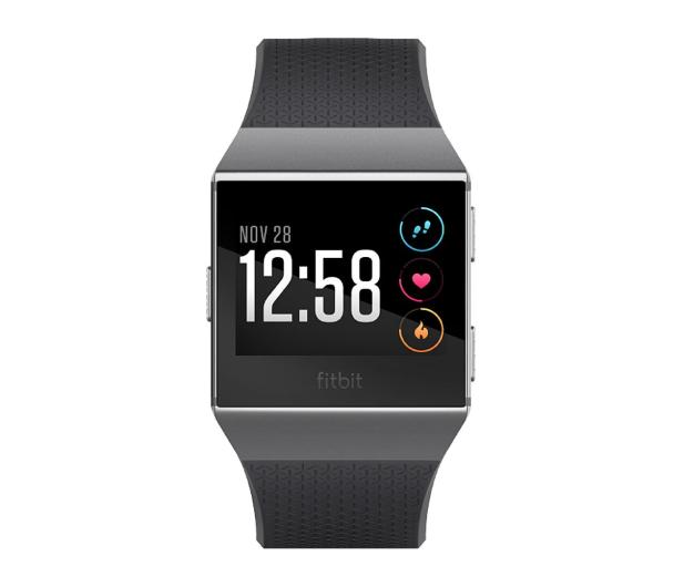 Fitbit Ionic HR czarny - 447434 - zdjęcie 2
