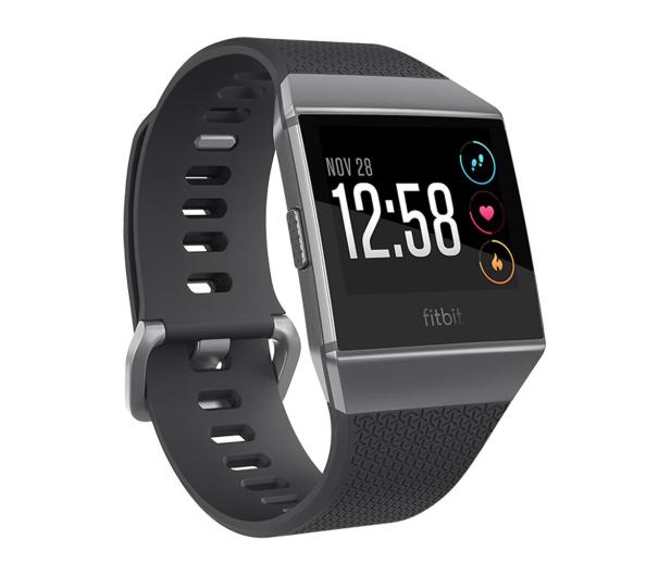 Fitbit Ionic HR czarny - 447434 - zdjęcie 1