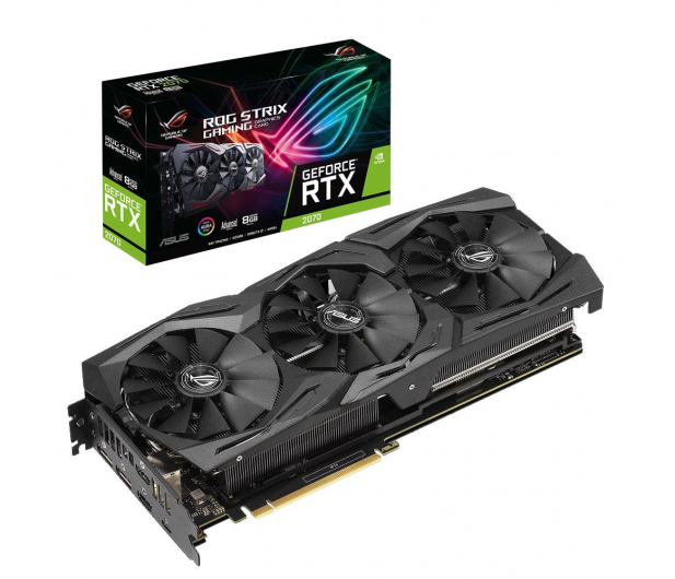 ASUS GeForce RTX 2070 ROG Strix Advance 8GB GDDR6 - 456607 - zdjęcie