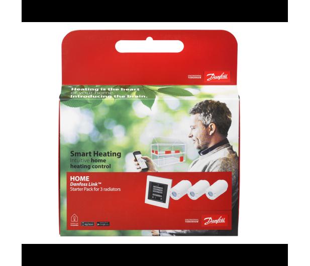 Danfoss Zestaw startowy dla 3 grzejników + panel Link WiFi - 456589 - zdjęcie 3