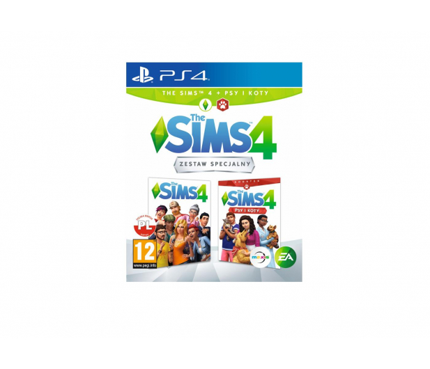 EA The Sims 4 + dodatek Psy i Koty - 456568 - zdjęcie