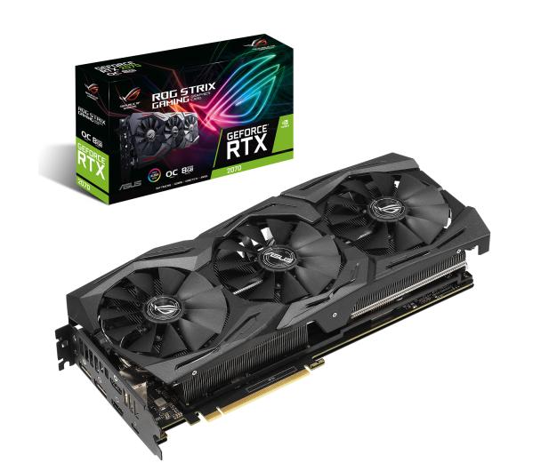 ASUS GeForce RTX 2070 ROG Strix OC 8GB GDDR6 - 456606 - zdjęcie