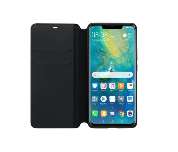 Huawei Etui z Klapką Wallet do Huawei Mate 20 Pro czarny  - 454208 - zdjęcie 3