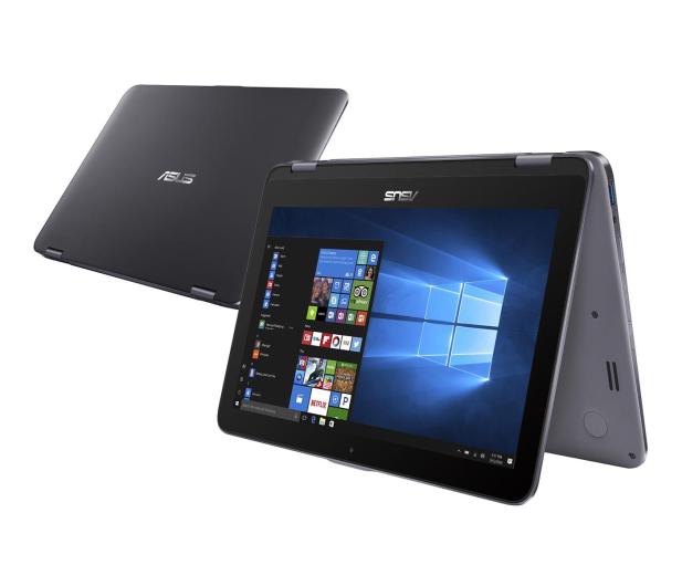 ASUS VivoBook Flip 12 N5000/4GB/500GB/Win10 Grey - 456866 - zdjęcie