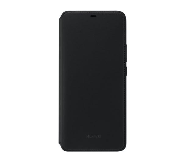 Huawei Etui z Klapką Wallet do Huawei Mate 20 Pro czarny  - 454208 - zdjęcie