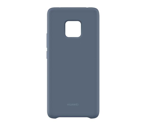 Huawei Silikonowe Plecki do Huawei Mate 20 Pro Blue  - 454203 - zdjęcie 4